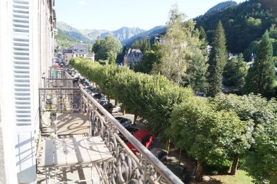 Location Mont-Dore - Vue du balcon